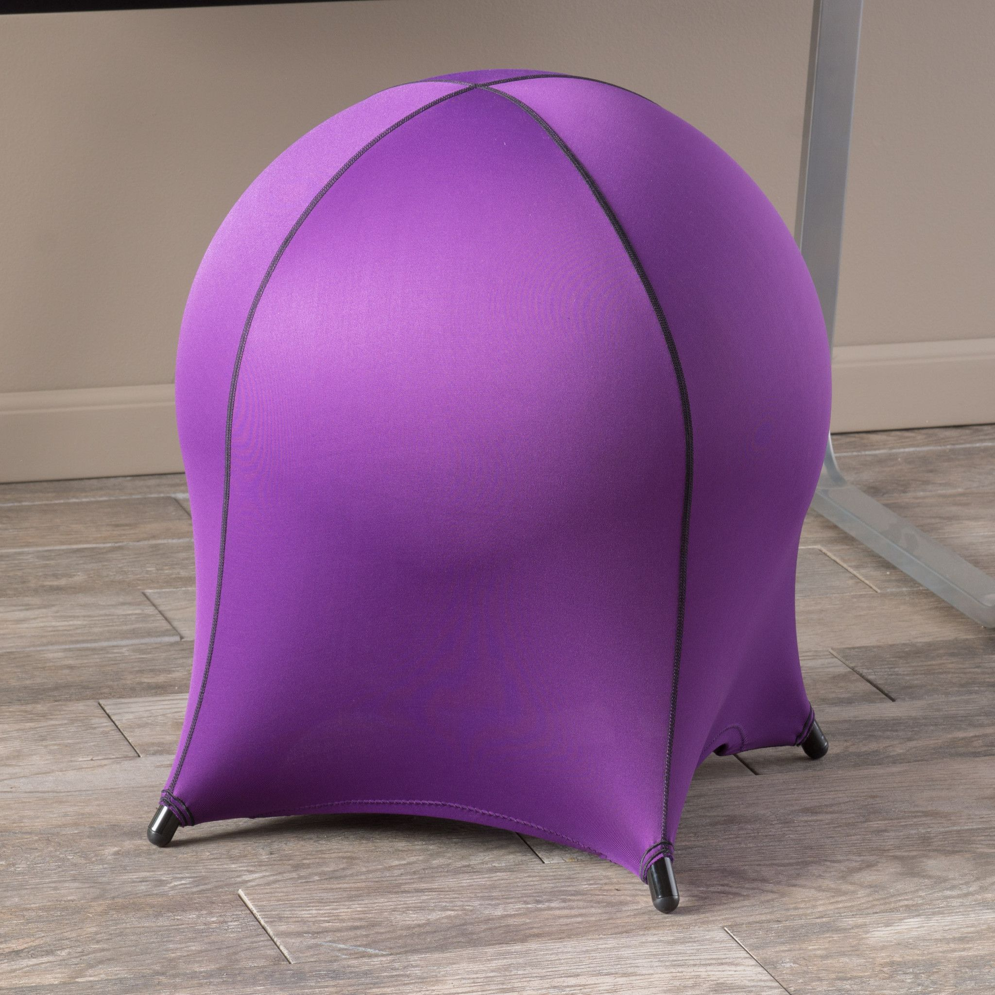 Many people have substituted the basic office chair for the ball