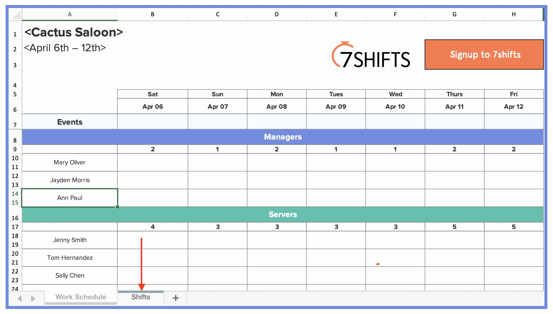 Excel Shift Schedule Template Elegant How To Make A