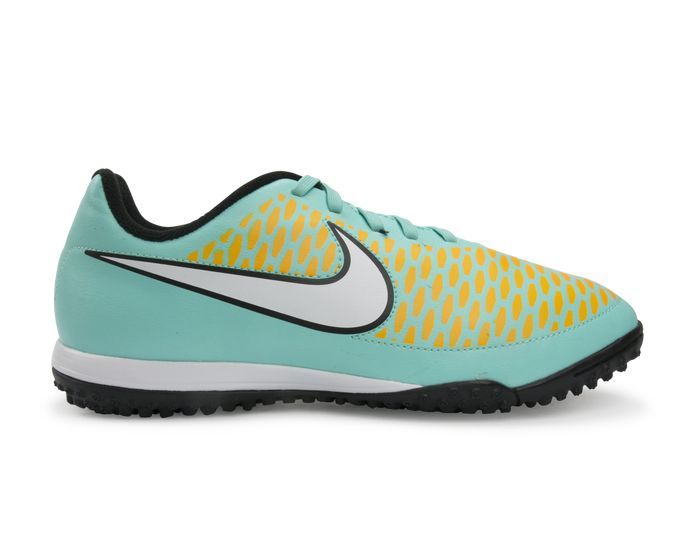 Nike Kids Magista Onda Turf Soccer Shoes Neo Turquoise/White/Hyper Crimson