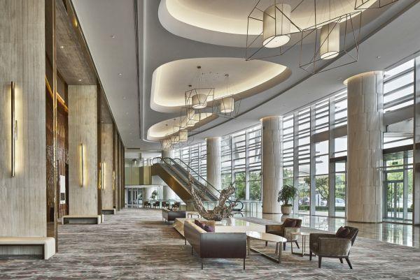 Sunrise Kempinski Hotel Beijing Hotel Lobby Design Hotel Interior Design Lobby Design