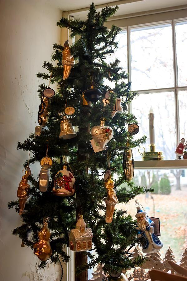 German Christmas Ornaments  by Cynthia Woods