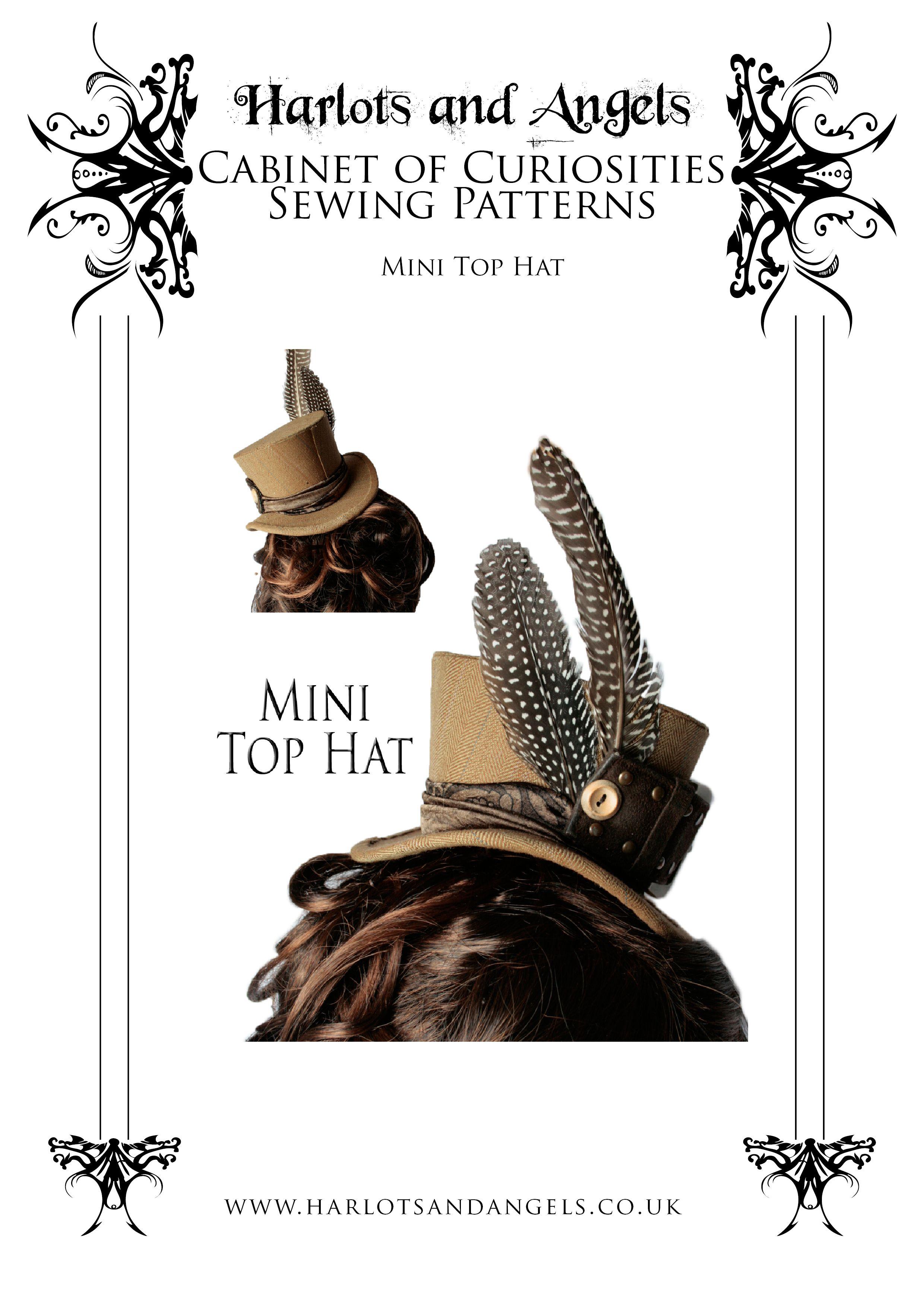 Steampunk Hats Templates - Invitation Templates | hats | Pinterest ...
