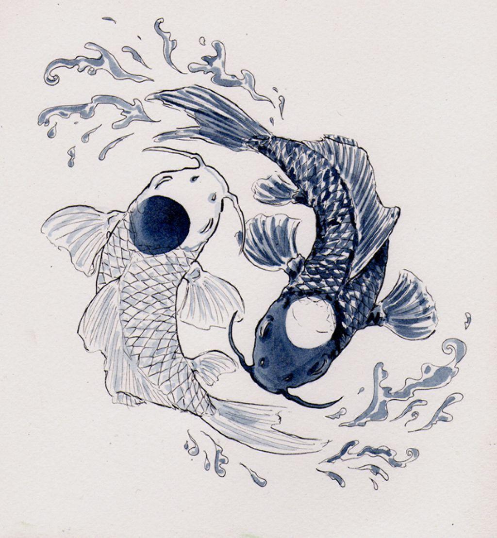 carps yin & yang