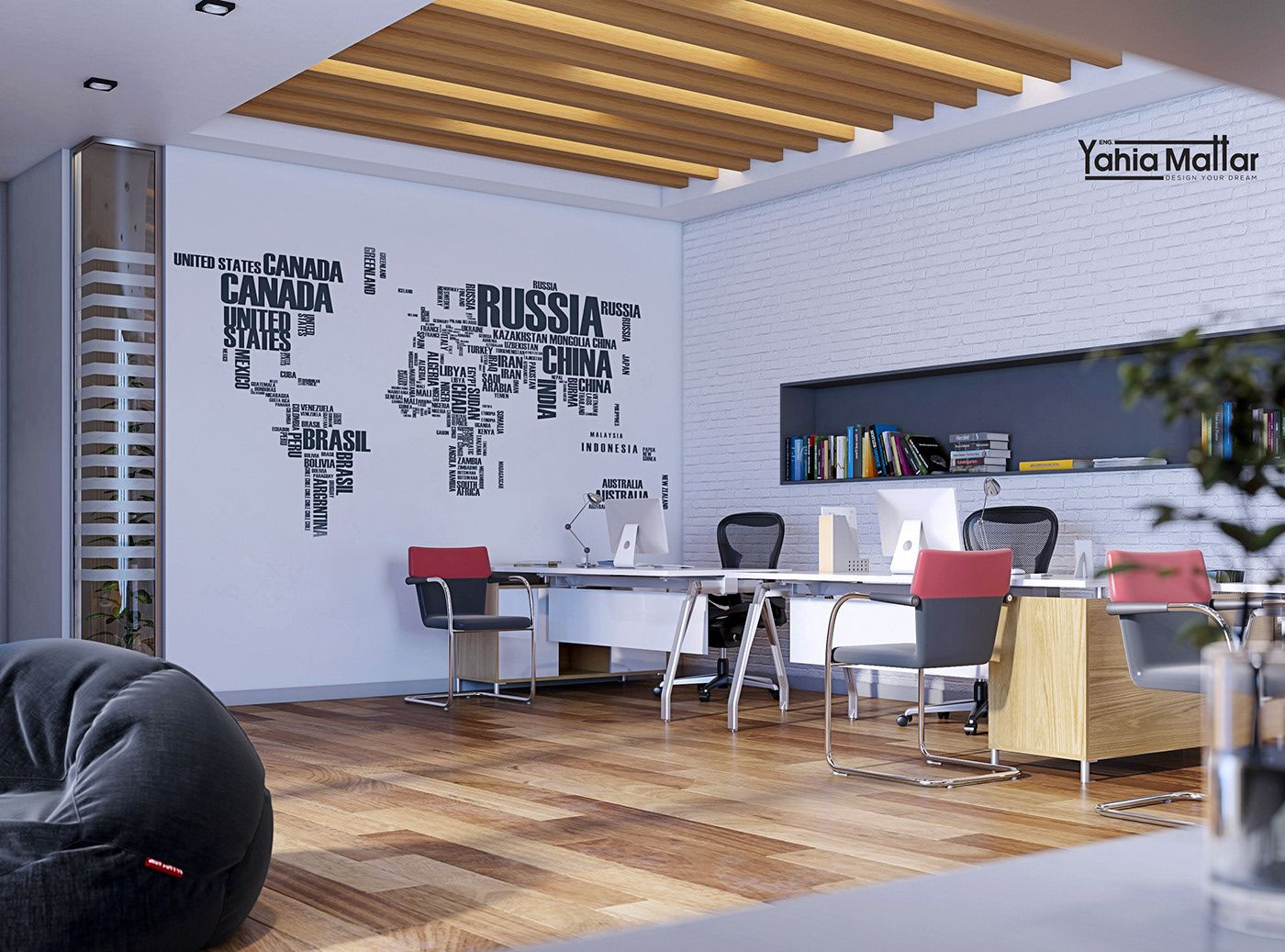 Check out this behance project ucmodern office in saudi arabia