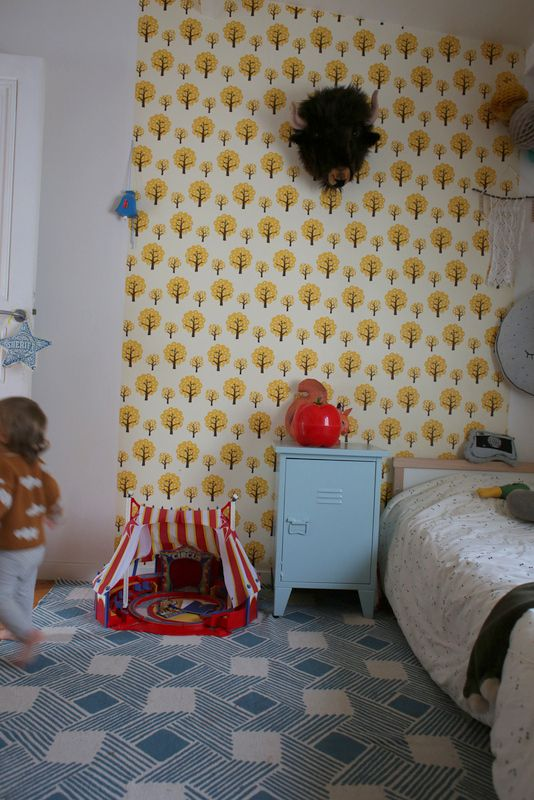 kids room, Ferm living Wallpaper