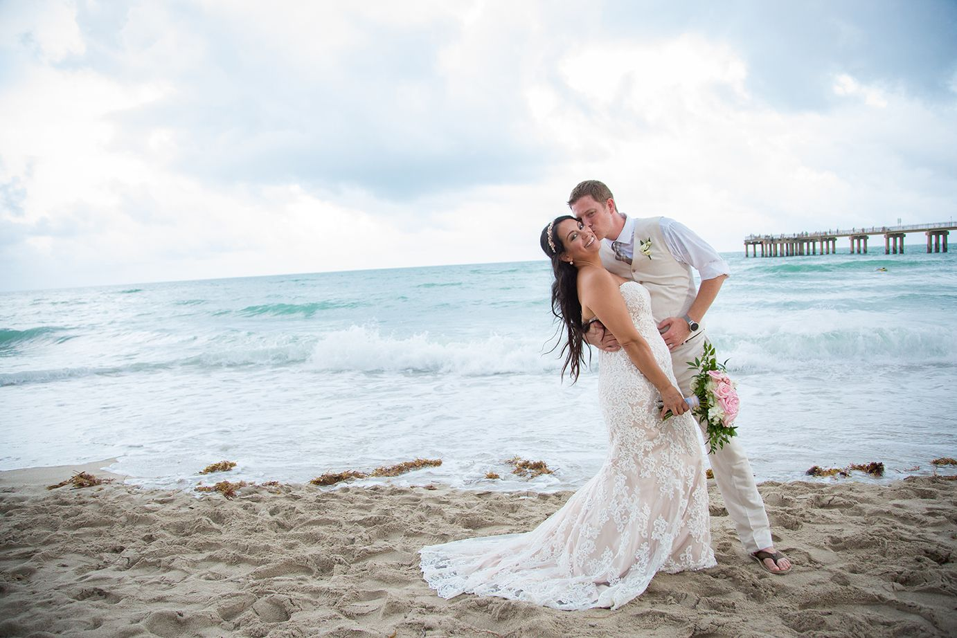 Beautiful Newport Beach Wedding Beach Wedding Dress Wedding
