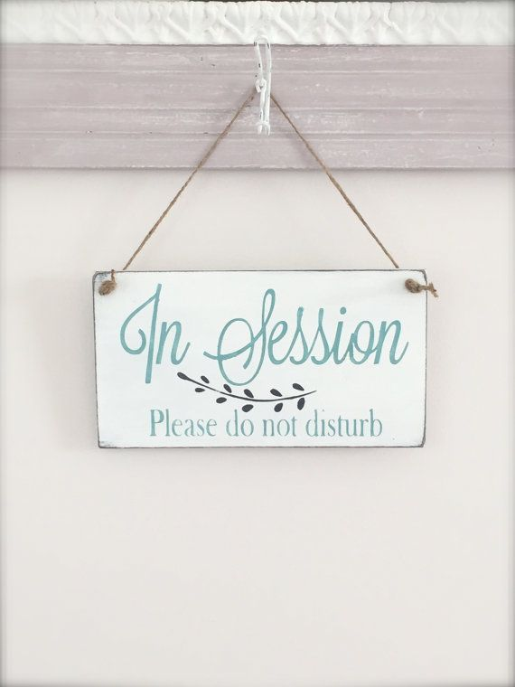 Nice Business Sign, In Session Sign By InMind4U