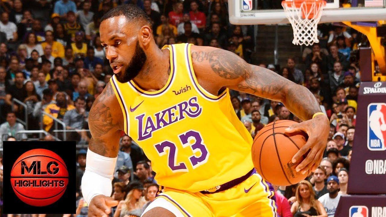 Los Angeles Lakers Vs Houston Rockets Full Game Highlights 10 20 2018 Lakers Vs Houston Rockets Lakers