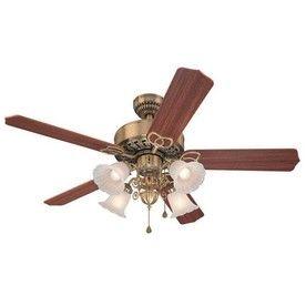 Harbor Breeze 52 In New Orlean Antique Brass Ceiling Fan