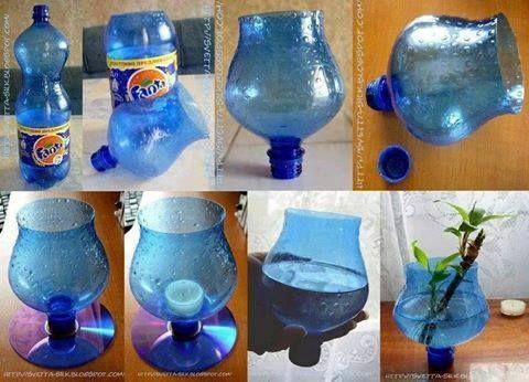Pet Şişeleri Değerlendirme Zamanı #recycledcrafts