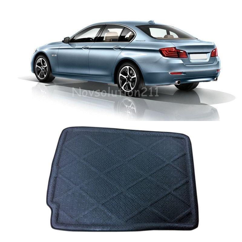 2010 2016 For Bmw 5 Series F10 Black Rear Cargo Liner Trunk Mat