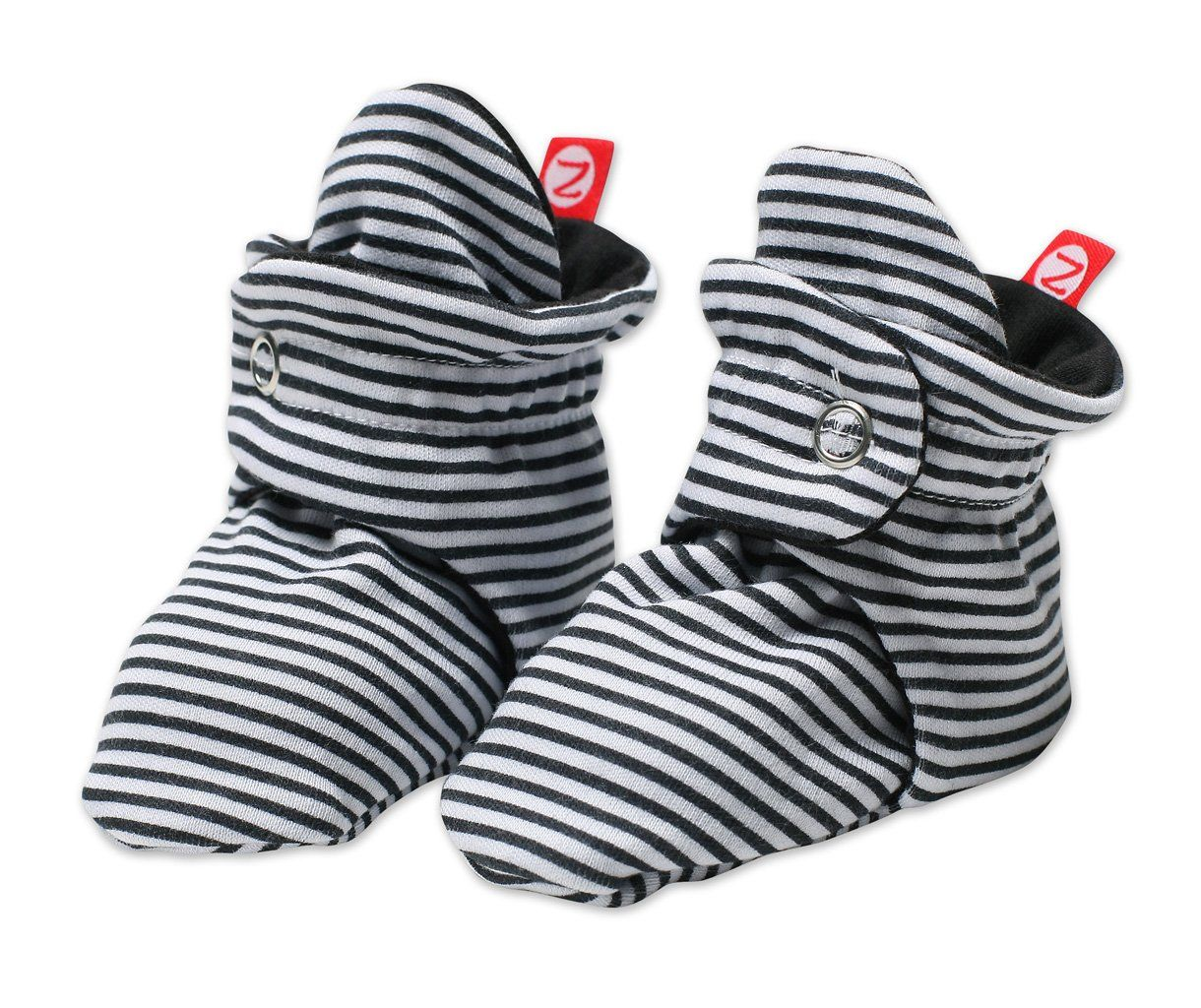 35b82bcf5 Amazon.com: Zutano Baby Girls' Candy Stripe Bootie: Infant And Toddler  Socks: Clothing