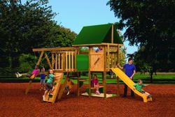 Menards Outdoor Playset Backyard Swing Set Kits Wood Swing