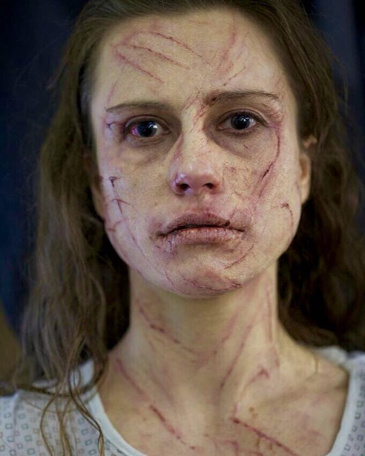 Makeup by Mike Marino@prorenfx and Mike Fontaine@mikefontaine_ One