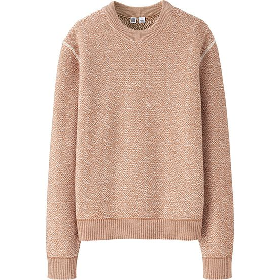 27233e547 WOMEN U COTTON CREWNECK SWEATER
