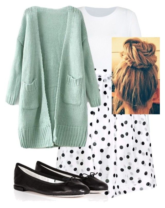 """Cute day out"" by pentecostal ❤ liked on Polyvore featuring Repetto"