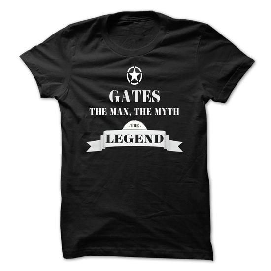 GATES, the man, the myth, the legend - #cool shirt #embellished sweatshirt. PRICE CUT => https://www.sunfrog.com/Names/GATES-the-man-the-myth-the-legend-cgklqwwzrm.html?68278