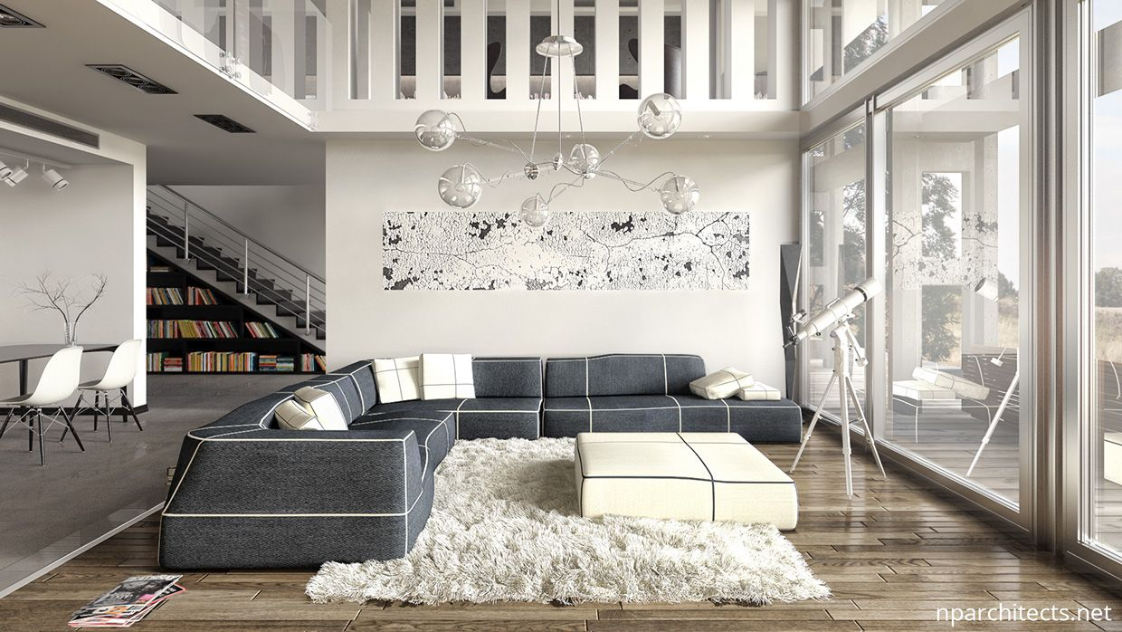 White Luxury Home Design Ideas Combined With Modern Decorating