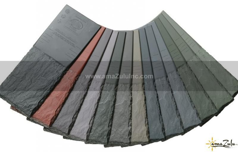 Best Faux Slate Tile Davinci Roofscapes Slate Roofs 400 x 300