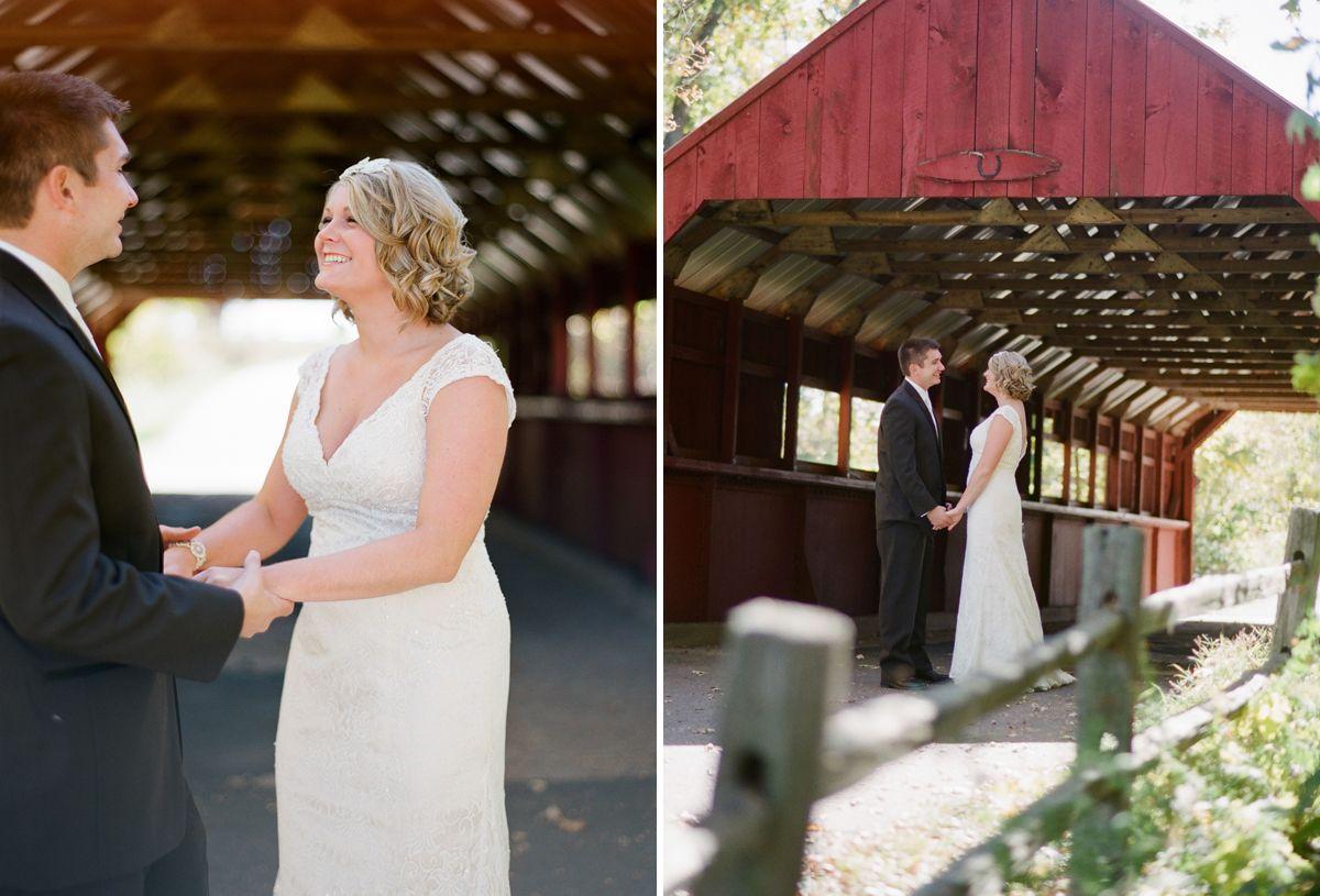 FALL WISCONSIN WEDDING   First Look