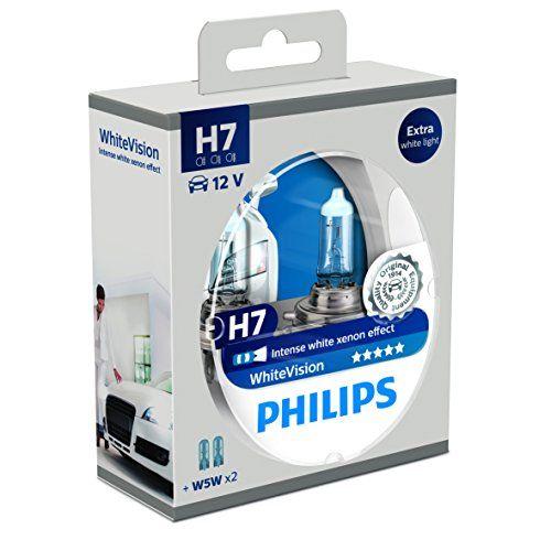 Nuova offerta in #automobile : Philips 12972WHVSM White Vision Lampada Alogena H7 12V 60% di Luce in Più sulla Strada 4300K a soli 18.11 EUR. Affrettati! hai tempo solo fino a 2016-12-26 21:59:00