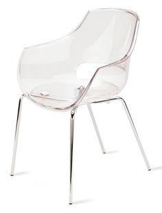 Transparent Plastic Dining Chairs