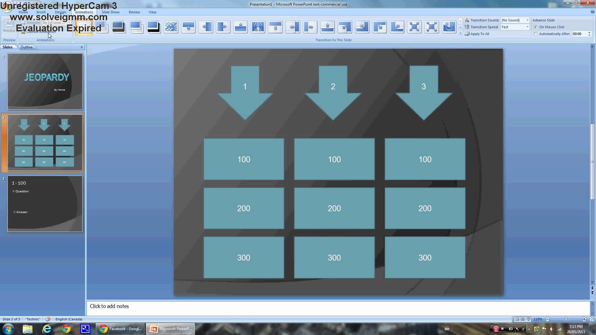 How To Make Your Own Jeopardy Template In Powerpoint Easy Crafts