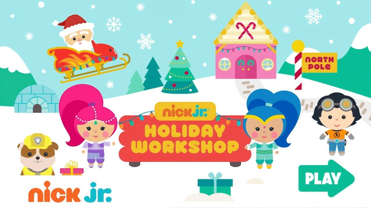 Play The Free Nick Jr Holiday Workshop Game W Paw