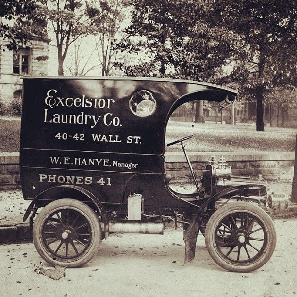 Atlanta's First Motorized Delivery Truck Was A Cadillac