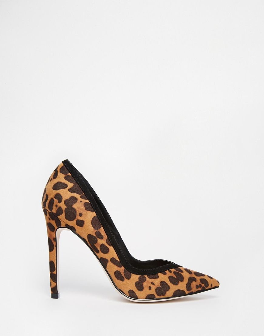42a8721403cf DUNE Aiyana leopard-print court shoes | Shoes | Court shoes, Leopard print  shoes, Stiletto heels