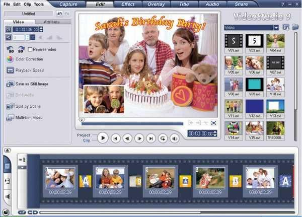 ulead video studio 9 free download with crack