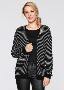 f163baa01dcc Cardigan, bpc bonprix collection, svart, randig | fashion news for ...