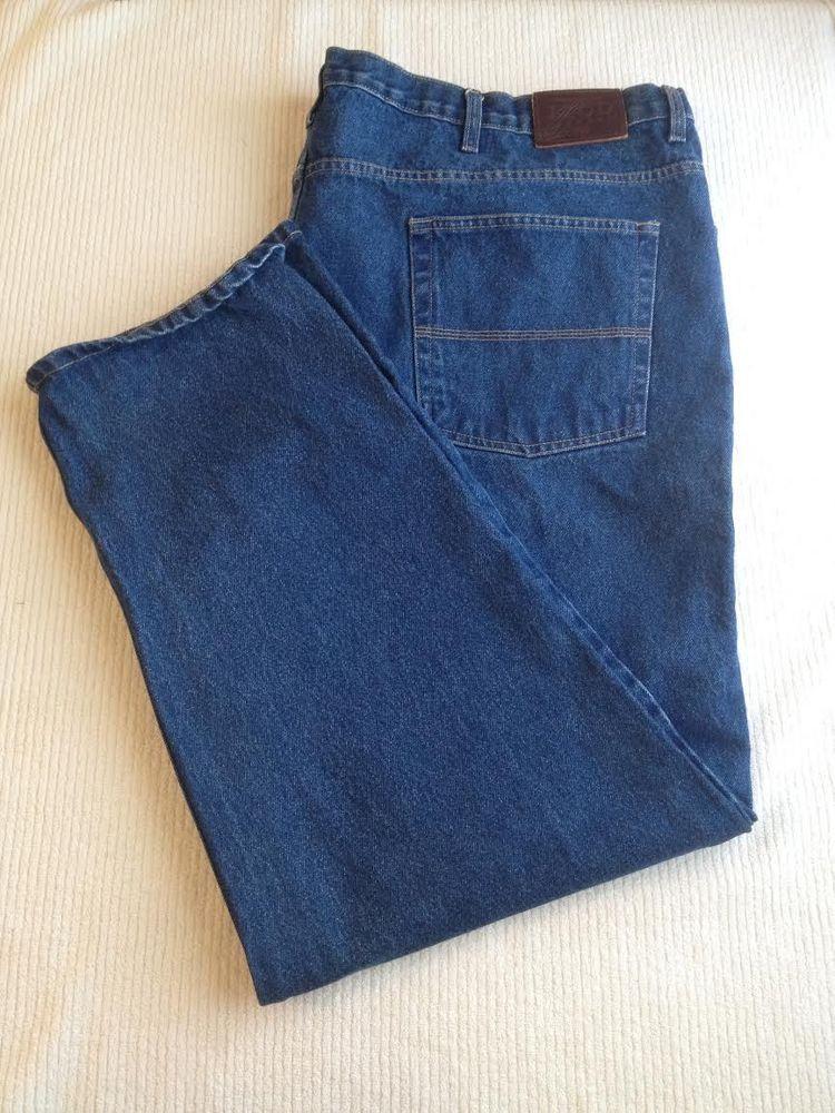 IZOD Classic Fit Jeans Tag 52x30  Straight Leg Mens Big & Tall #IZOD #ClassicStraightLeg