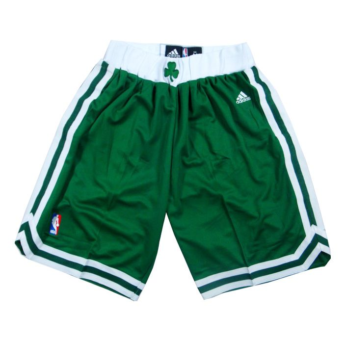 Boston Celtics Green NBA Shorts