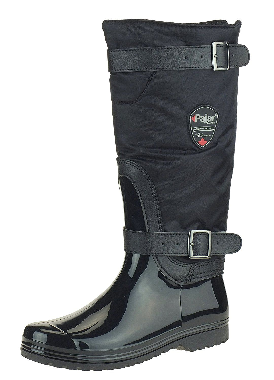Pajar RORY Women's Insulated Rain Boots, Black *** Read more reviews of the product by visiting the link on the image.