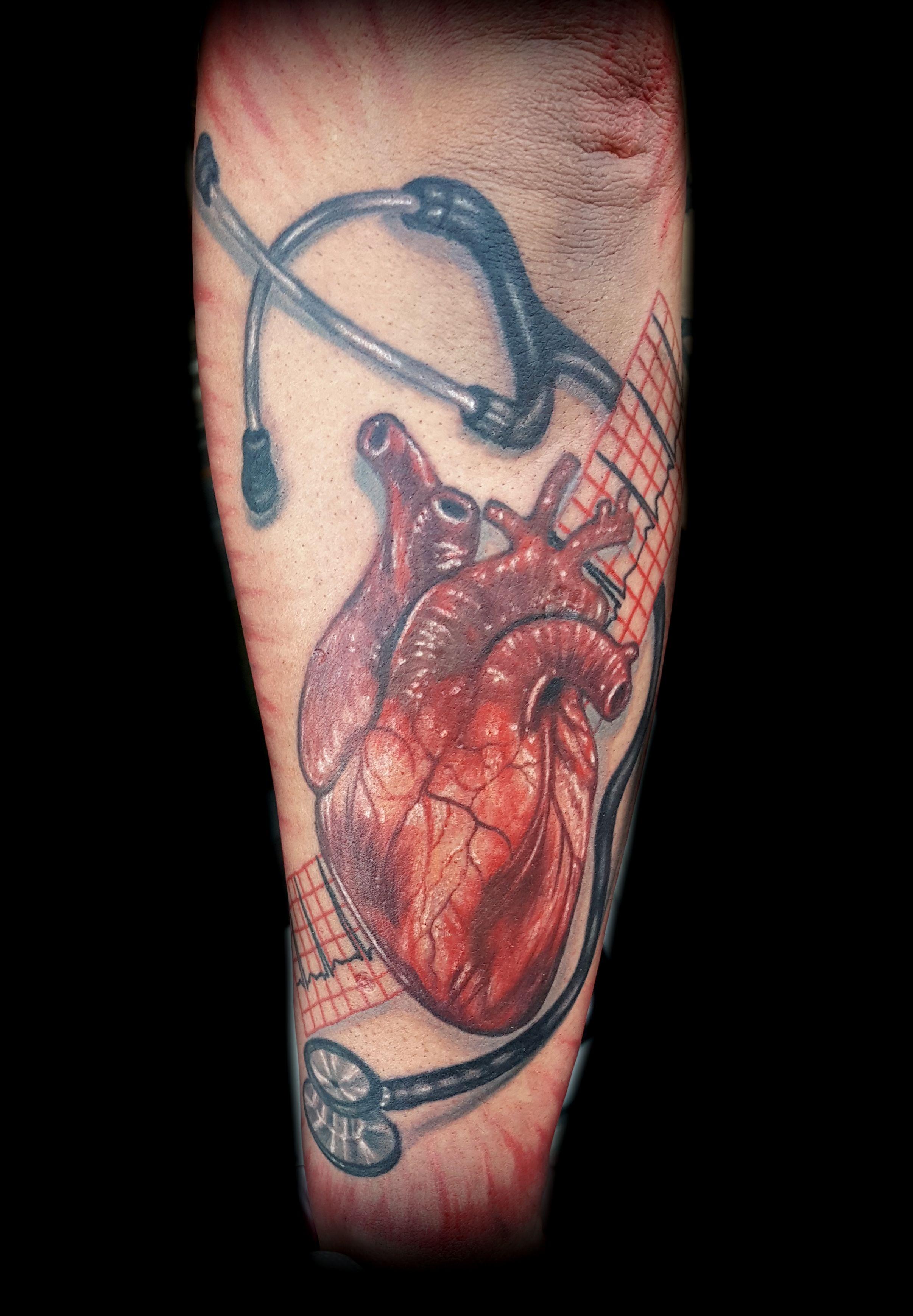 Realistic Heart Tattoo Realistic Tattoo Artists Top Tattoos Tattoos