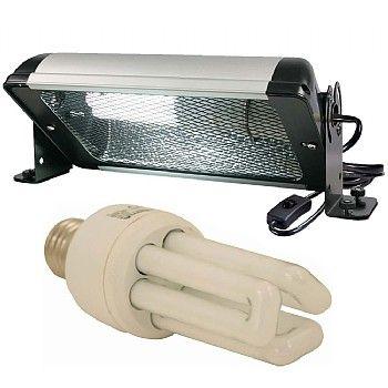 Arcadia Compact Uv Deluxe Bird Lighting Kit Lamp Holder Lighting Power Led Lighting System