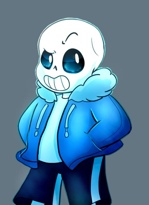 I Was Surprised At How Much Easier Sans Was To Draw Than Papyrus
