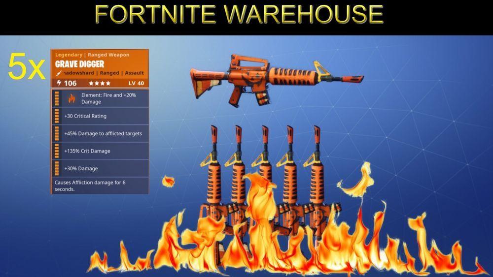 fortnite save the world guns and mats cheapest 5x grave digger bundle fortnite uk game - fortnite save the world cheapest