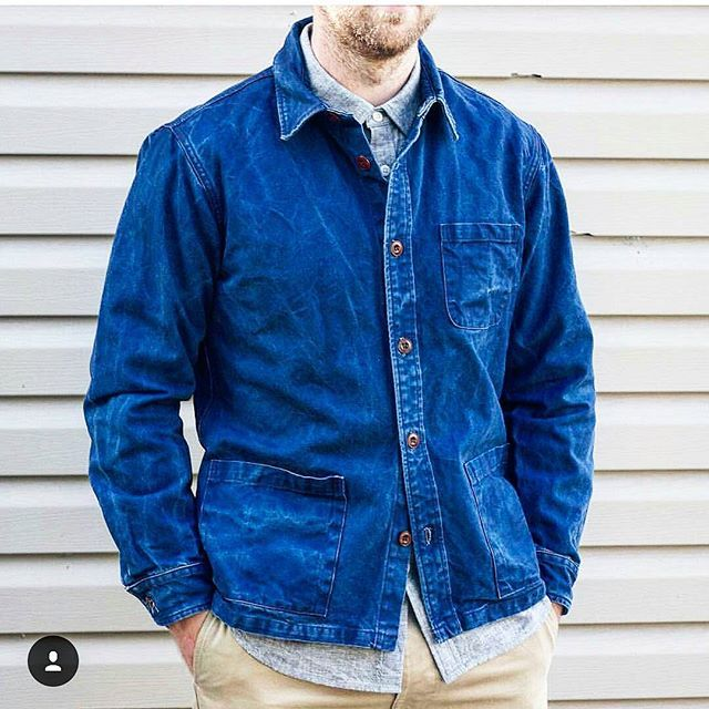 9298980e44a2 Corridor NYC Duck Dyed Indigo Overshirt available at  northamericanqp
