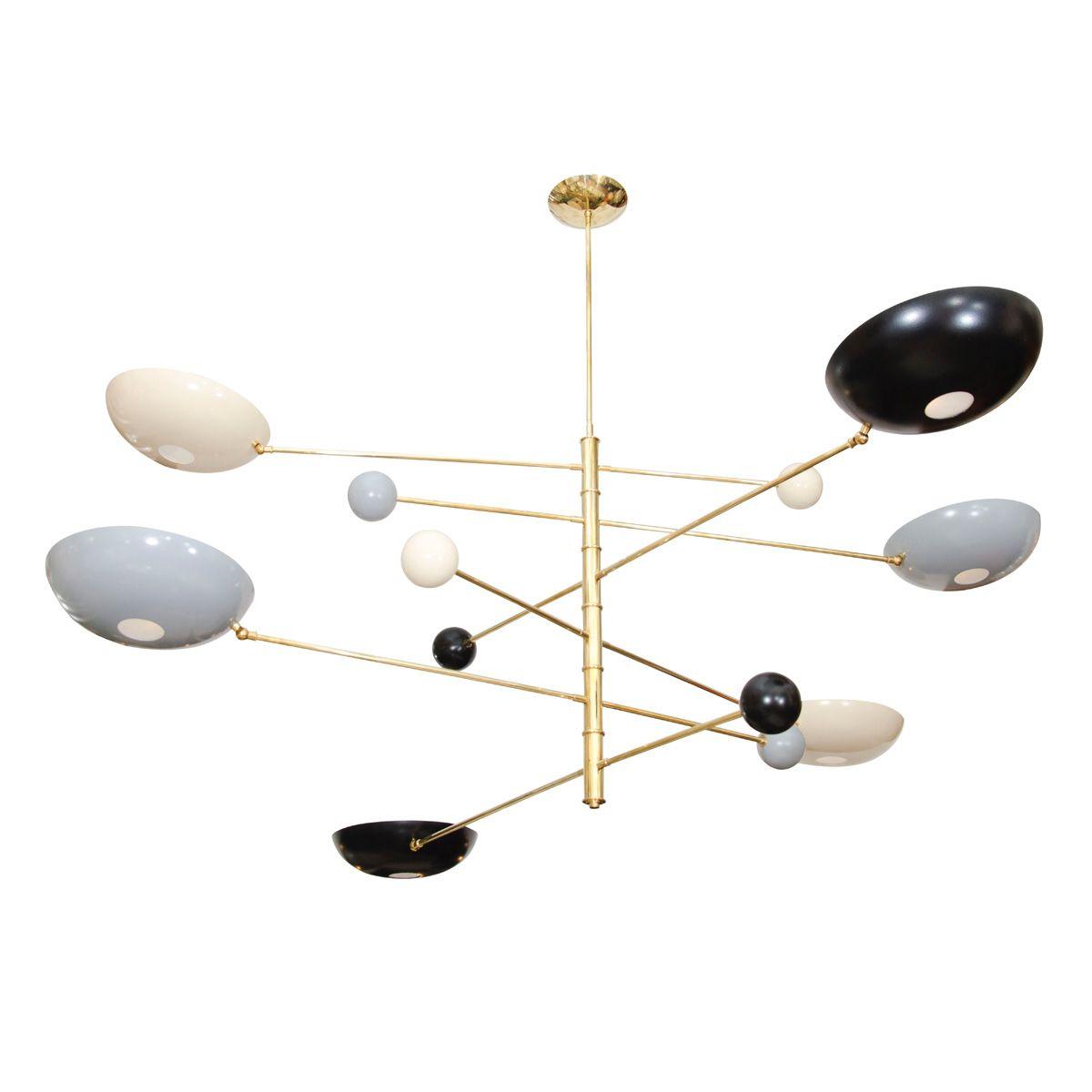 Articulated Twelve Arm Ceiling Fixture | Chandeliers U0026 Pendants | John  Salibello