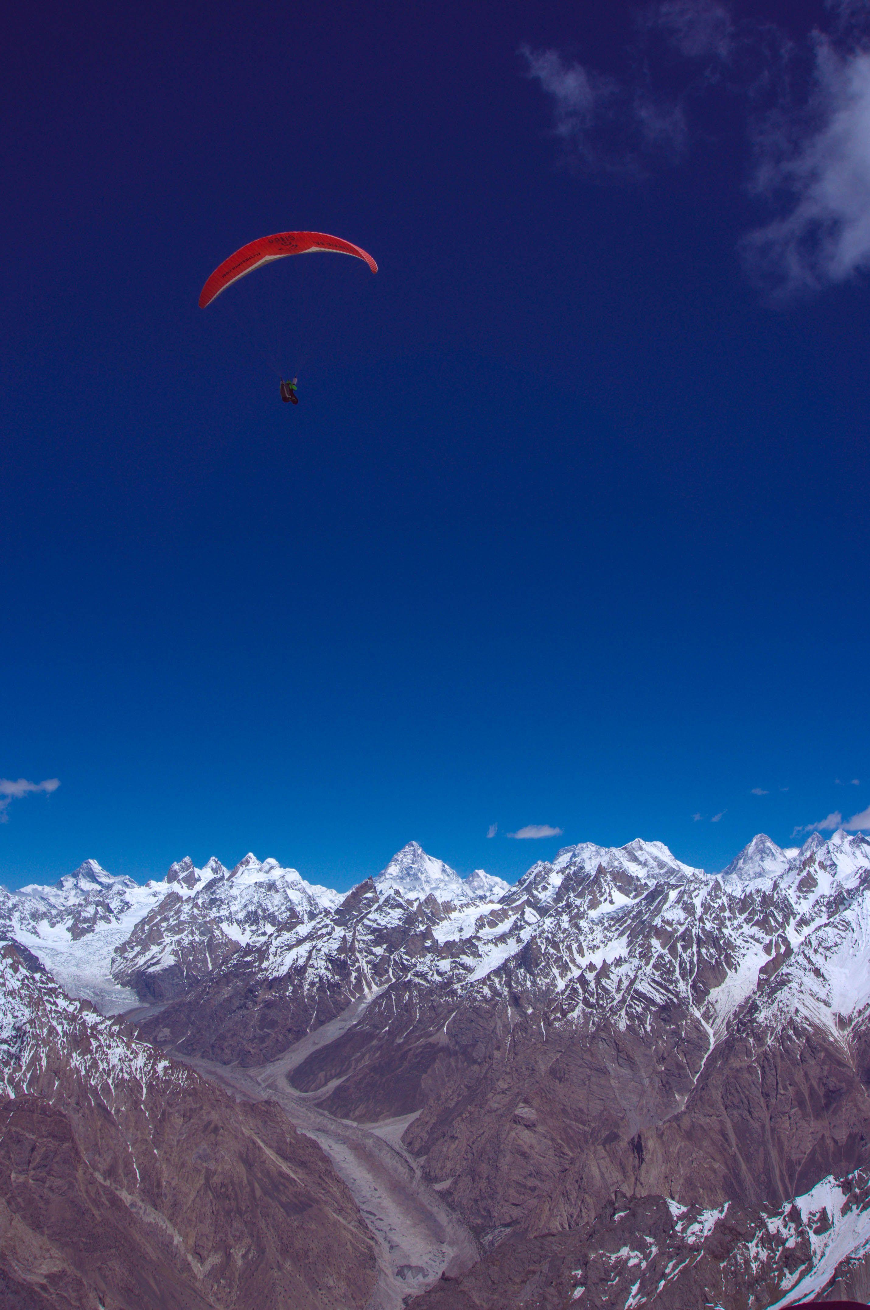 Over K2 G2 G1 broad peak,  Pakistan