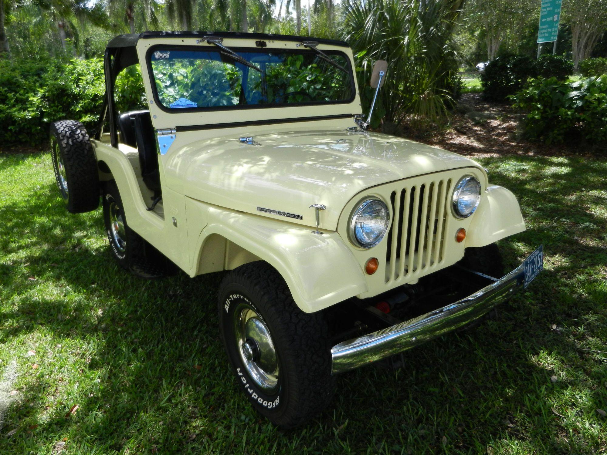 1966 Willys Kaiser Jeep Cj5 4x4 Autos Willys Jeep Pinterest