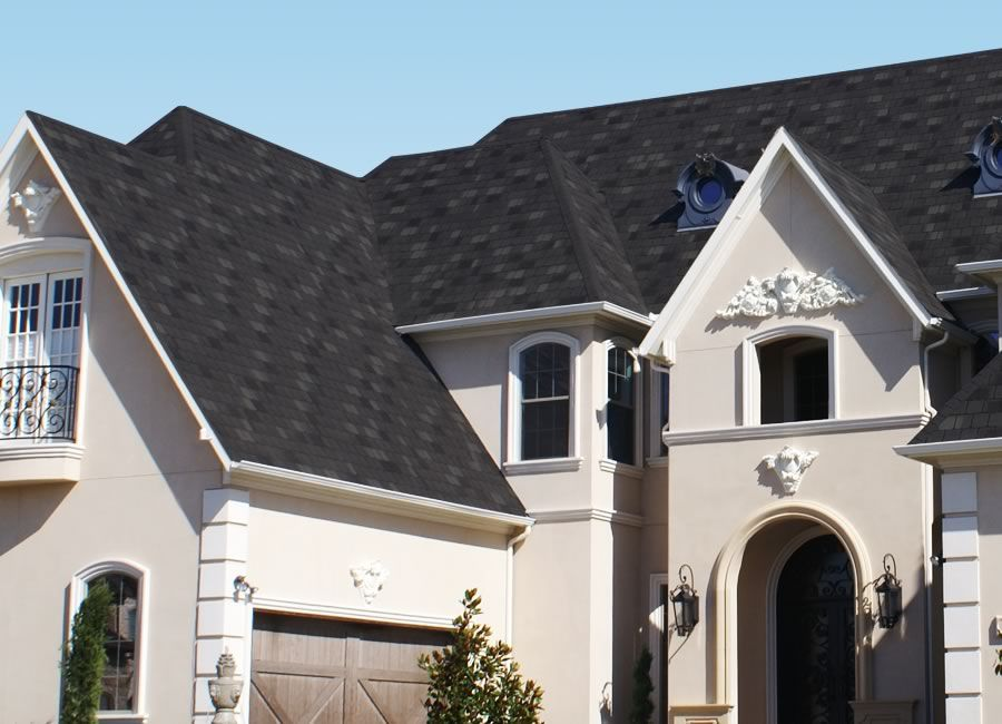 Stormmaster Slate Roofing Shingles Featuring Scotchgard Protector Blackstone Slate Roof Shingles Shingling Roofing