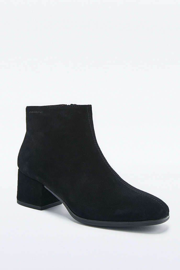 Vagabond Daisy Black Suede Ankle Boots   Daisies, Boots and Suede ...