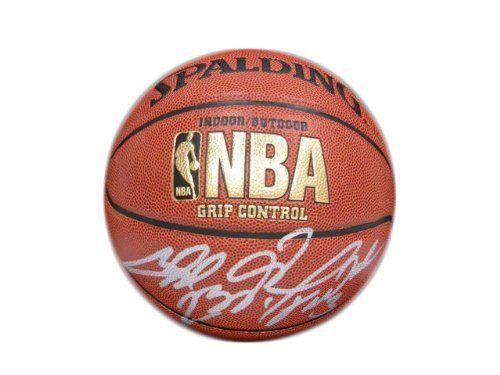 new concept 11693 0d7a1 Lebron James Chris Bosh Dwyane Wade Autographed Miami Heat ...