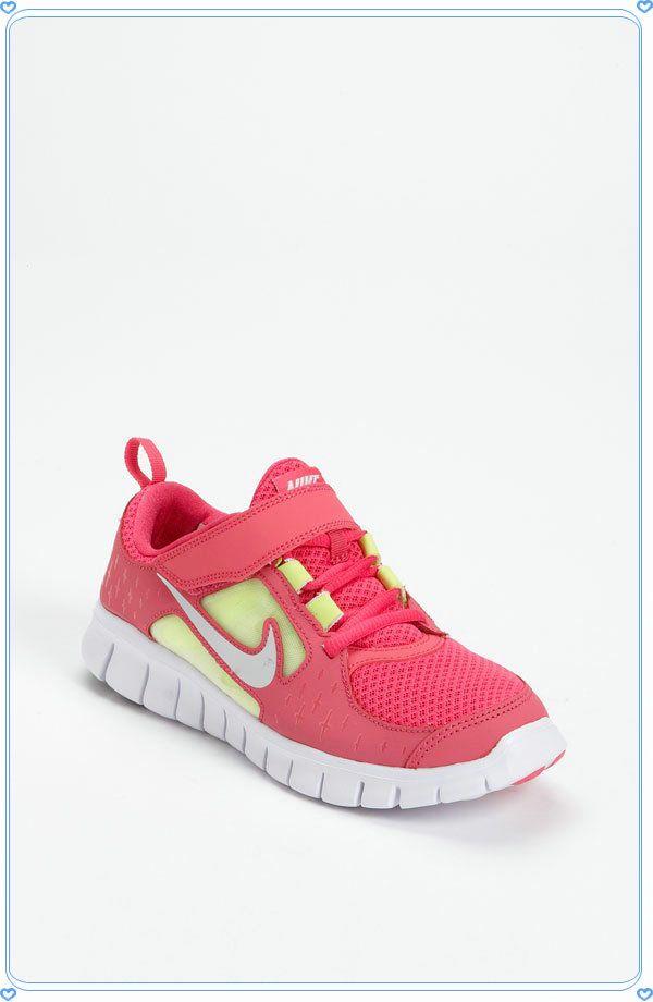 Nike Free Run 3 Sneaker (Baby, Walker, Toddler Little Kid)