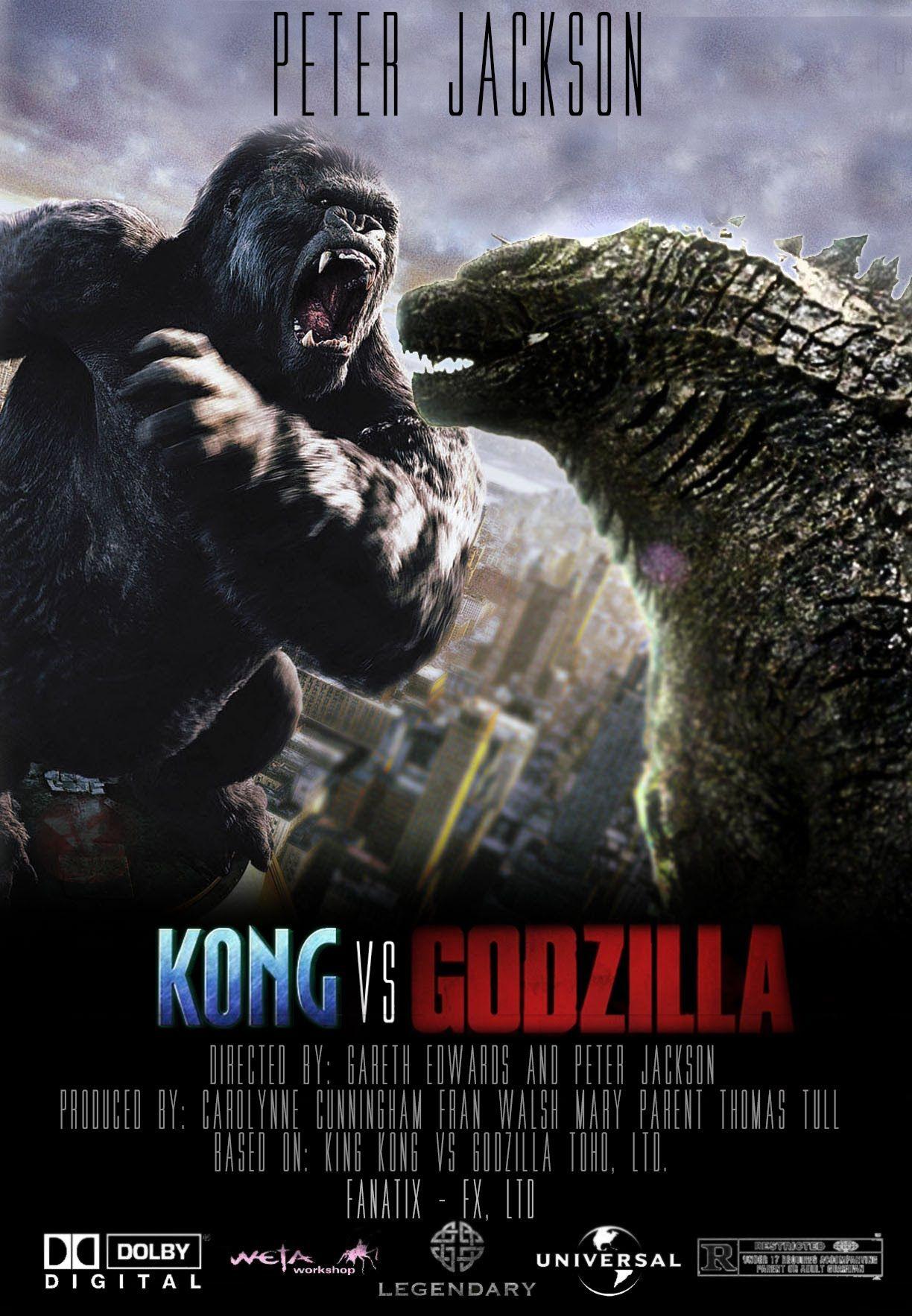 King Kong Vs Godzilla Trailer Fan Made King Kong Vs Godzilla Godzilla Vs Godzilla