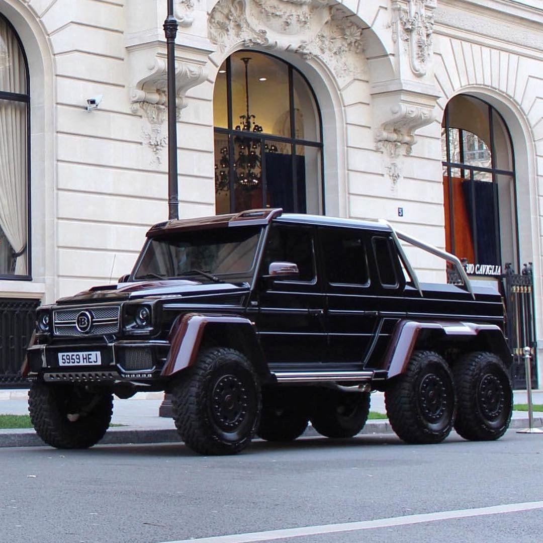 Mercedes-Benz Brabus 6x6 G 63 AMG