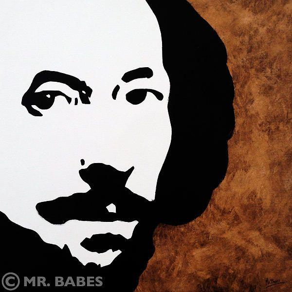 William Shakespeare Painting
